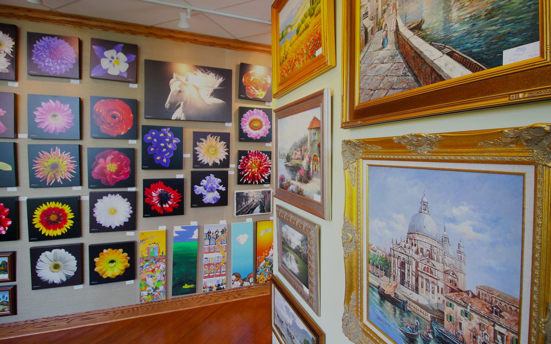 Art Gallery & Custom Framing