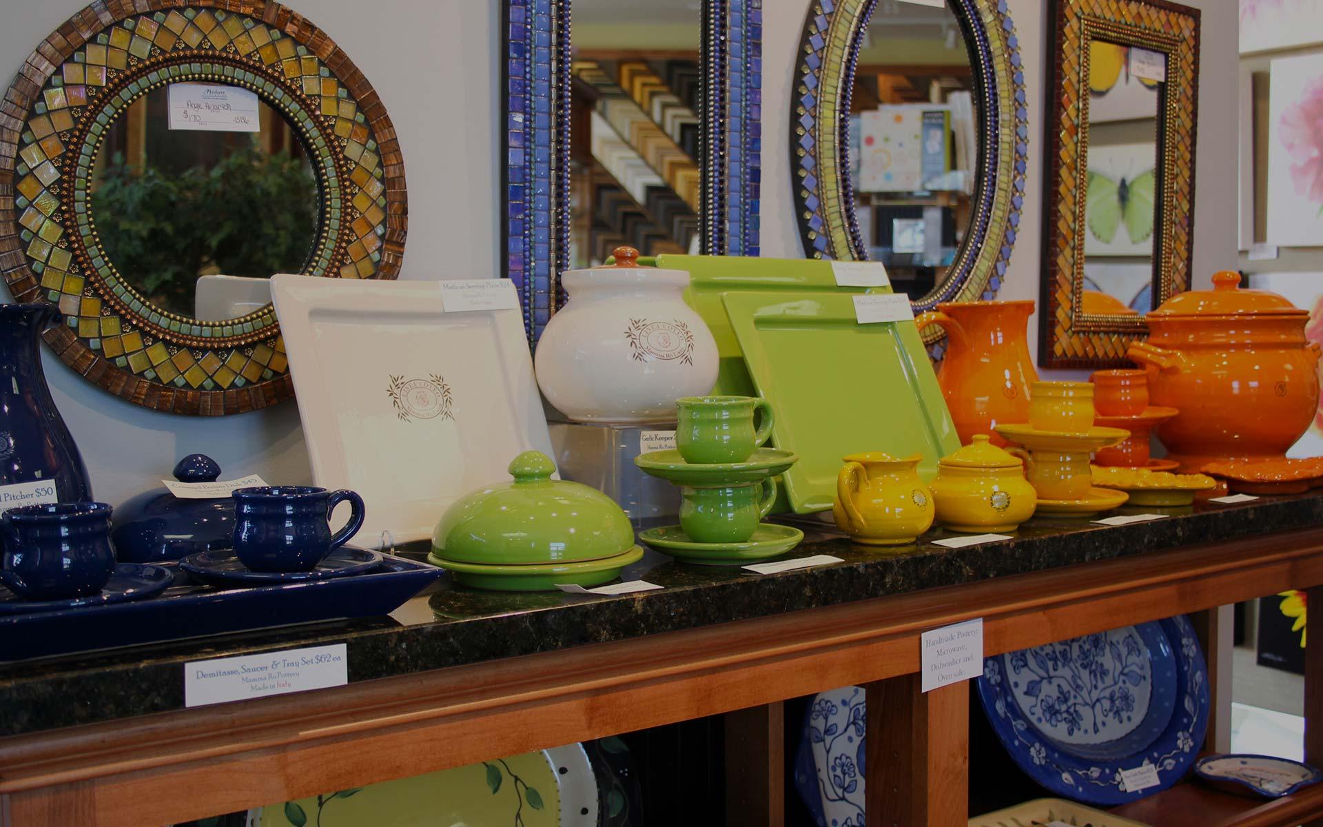 Ceramics, Pottery & Gifts
